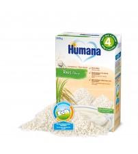 Cereale Fara Lapte, Humana Cu Fulgi De Orez, 200g, 4 Luni+