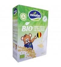 Cereale Bio pentru copii cu orez, mei si quinoa, Ninolac, 4 luni+, 250g