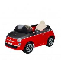 Fiat 500, Peg Perego, Red/Grey