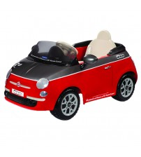 Fiat 500, Peg Perego, Red/Grey, Telecomanda