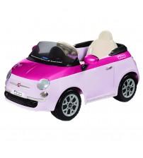 Fiat 500, Peg Perego, Pink/Fucsia, Telecomanda