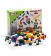 Cubix - Constructii: Cuburi mixte si 3 personaje, 370 buc, 4ani+