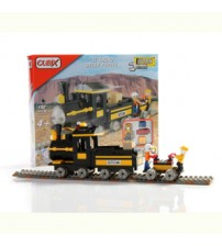 """Cubix - Constructii: Trenul """"pepitelor"""", 192 buc, 4ani+"""