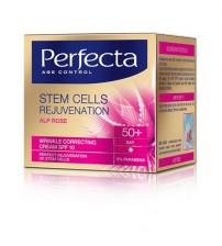 Perfecta Stem Cells Rejuvenation Crema pentru corectarea ridurilor 50+ de zi, 50 ml